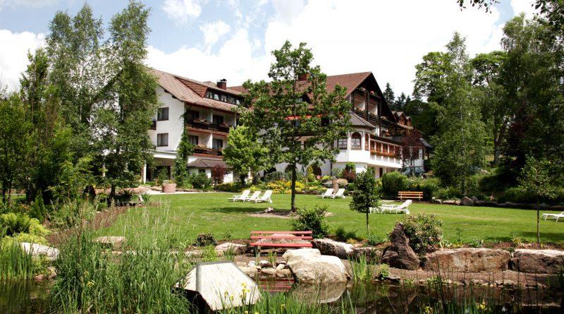 Foto des Garten des Waldblick Hotels Kniebis