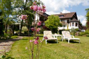 Garten des Waldblick Hotels Kniebis