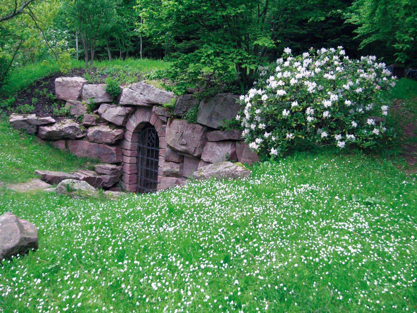 Eingang zum Bergwerk Hallwangen (© Bergwerk Hallwangen)