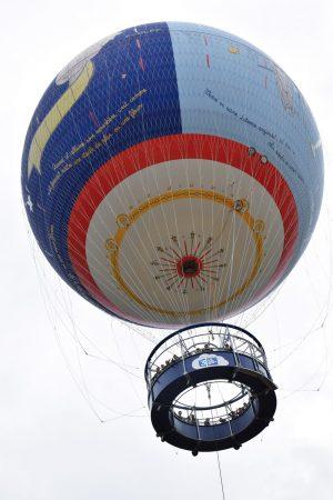 Heuißluftballon im Parc du Petit Prince (© Reinhold Wagner)